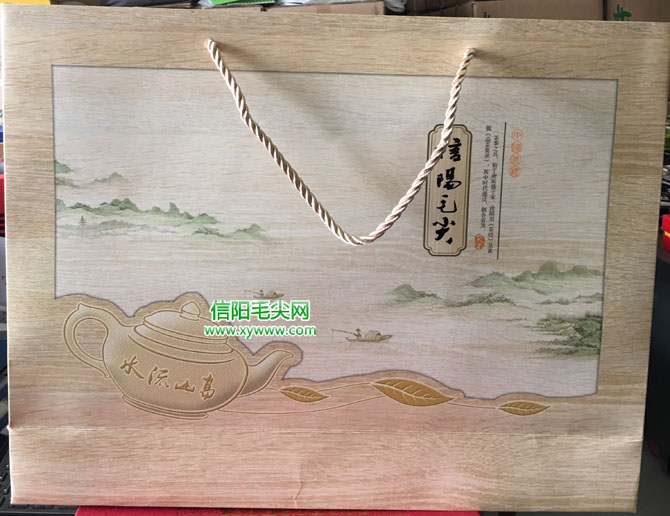 龙8娱乐网址毛尖茶礼盒 原生态 LH1604